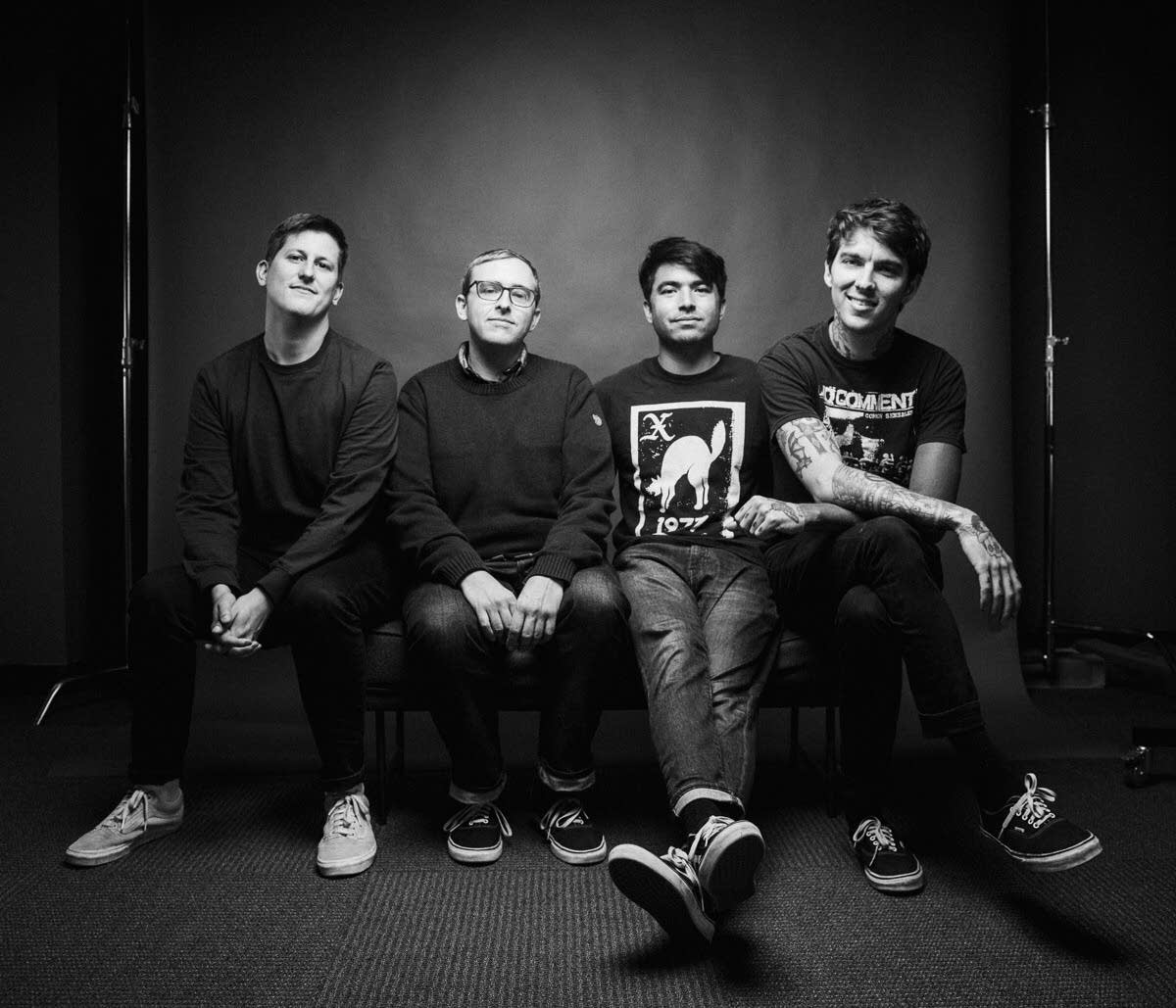Joyce Manor perform in The Current studio