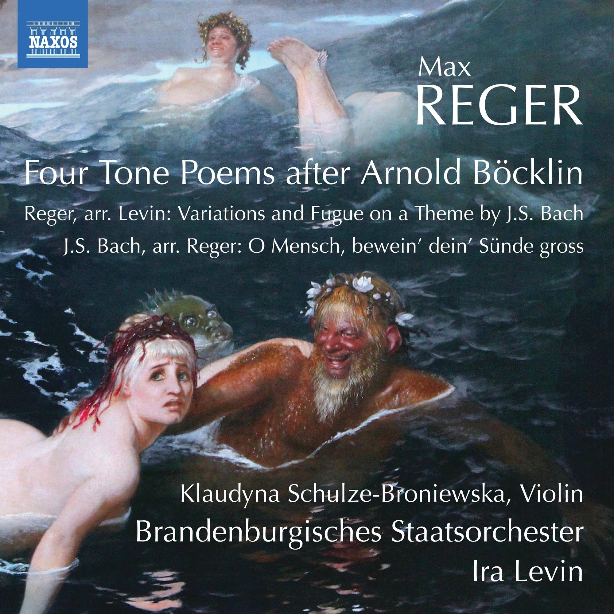 Max Reger - J.S. Bach's O Mensch, Bewein' Dein' Sunde Gross