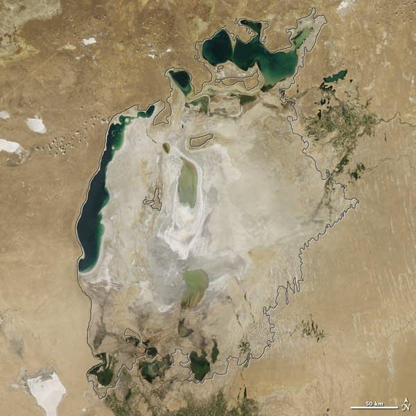 Aral Sea 2015