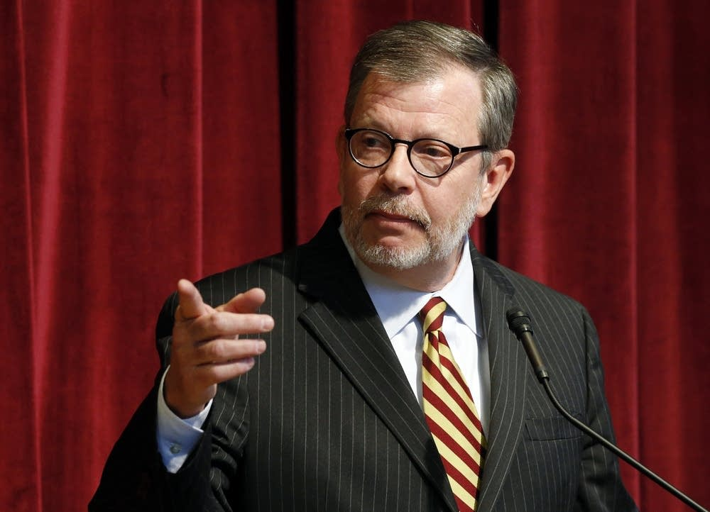 University of Minnesota President Eric Kaler