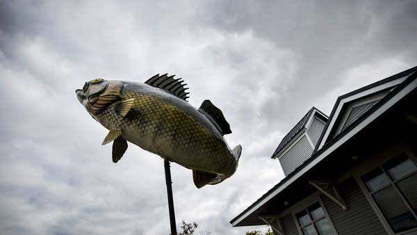 Could the bass overtake the walleye as roadside art?