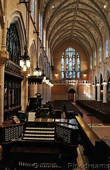 The Welte; Möller; Gould & Schultz organ at the Episcopal Cathedral of Saint Mark, Minneapolis, MN
