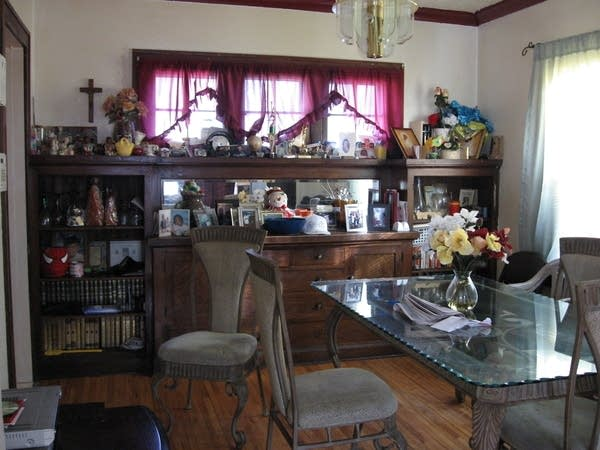 Theresa Collier's dining room