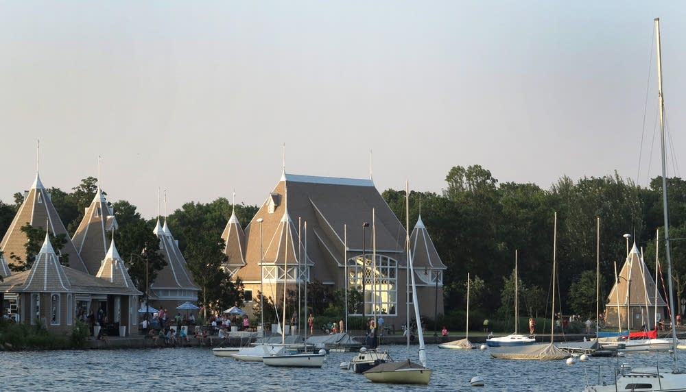The Lake Harriet Bandshell complex