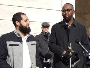 CAIR's Jaylani Hussein and Amir Malik