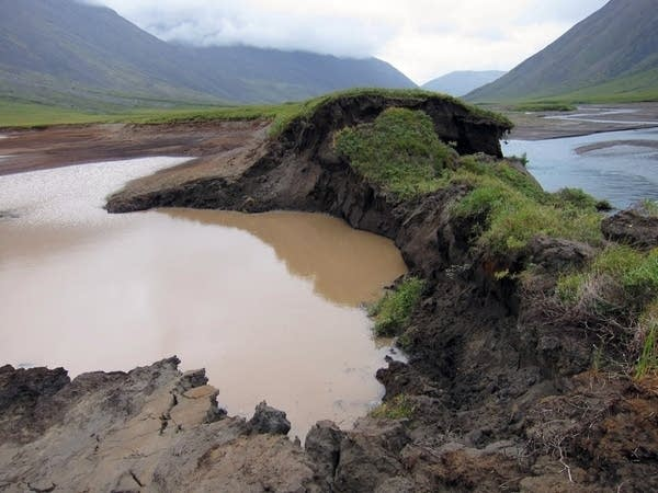Permafrost is thawing across the Arctic.
