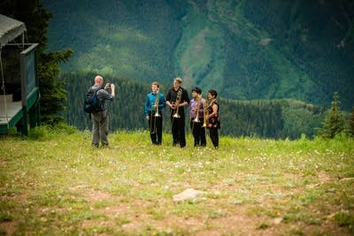 Df0930 20140716 student trombonists on aspen mountain