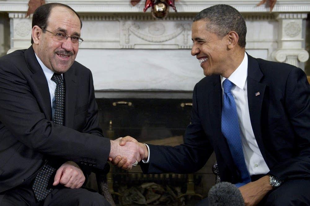 Barack Obama, Nouri al-Maliki
