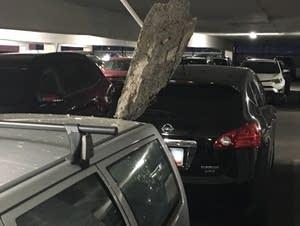 RiverCentre parking ramp