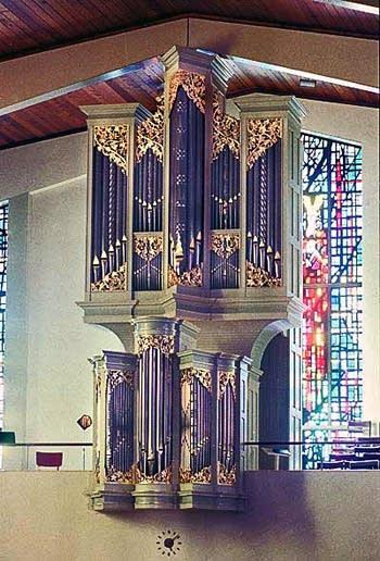 1984 Fritts-Richards organ at Saint Alphonsus Church, Seattle, WA