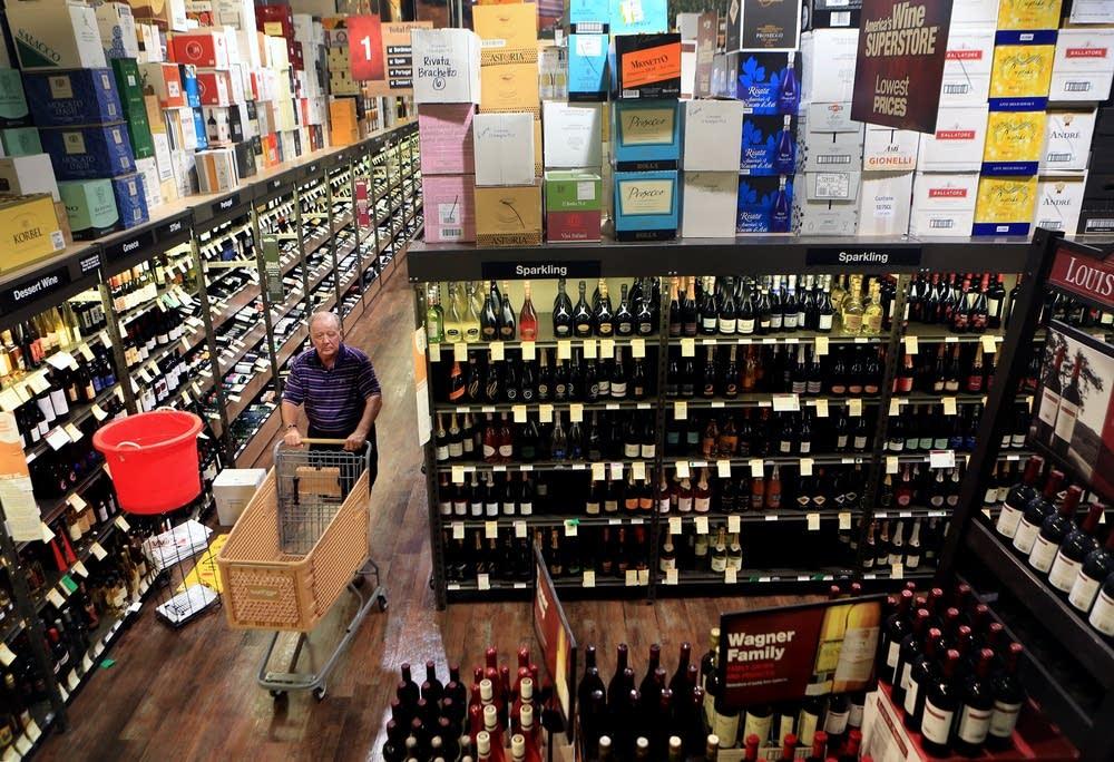 Huge wine selection