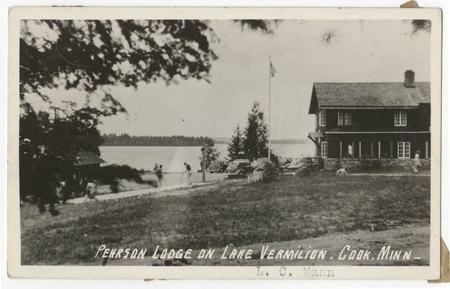 Pehrson Lodge on Lake Vermilion.