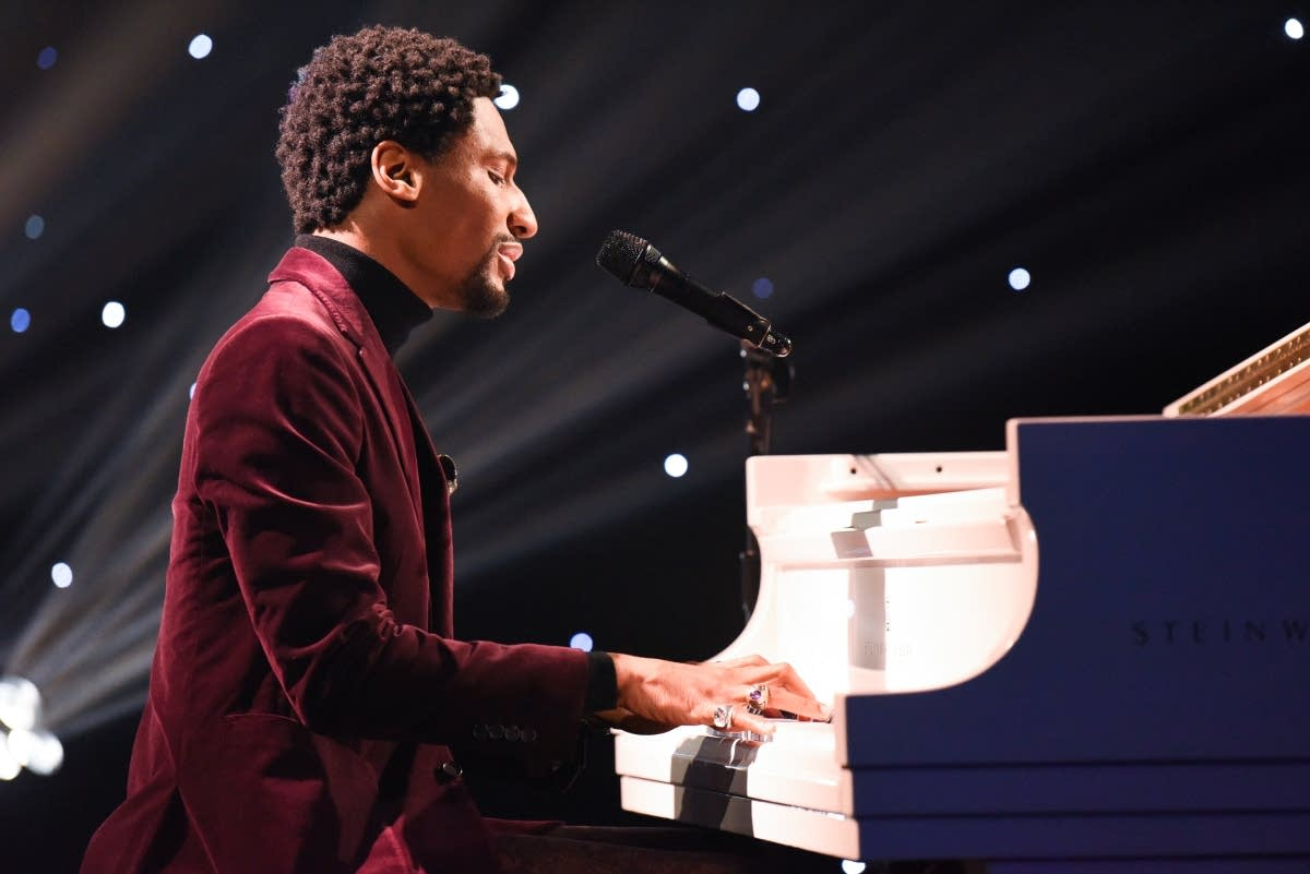 Jon Batiste in his role on 'The Late Show with Stephen Colbert'