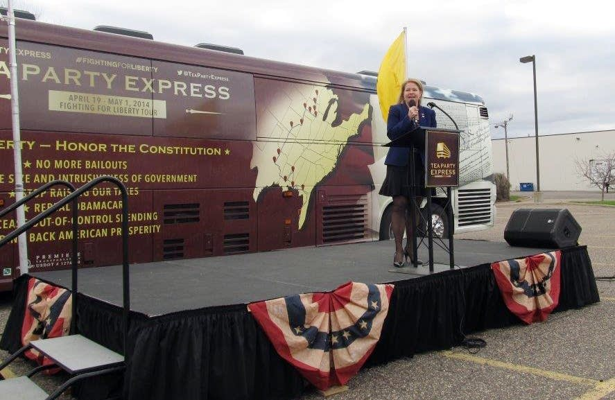 State Sen. Julianne Ortman at a Tea Party rally.