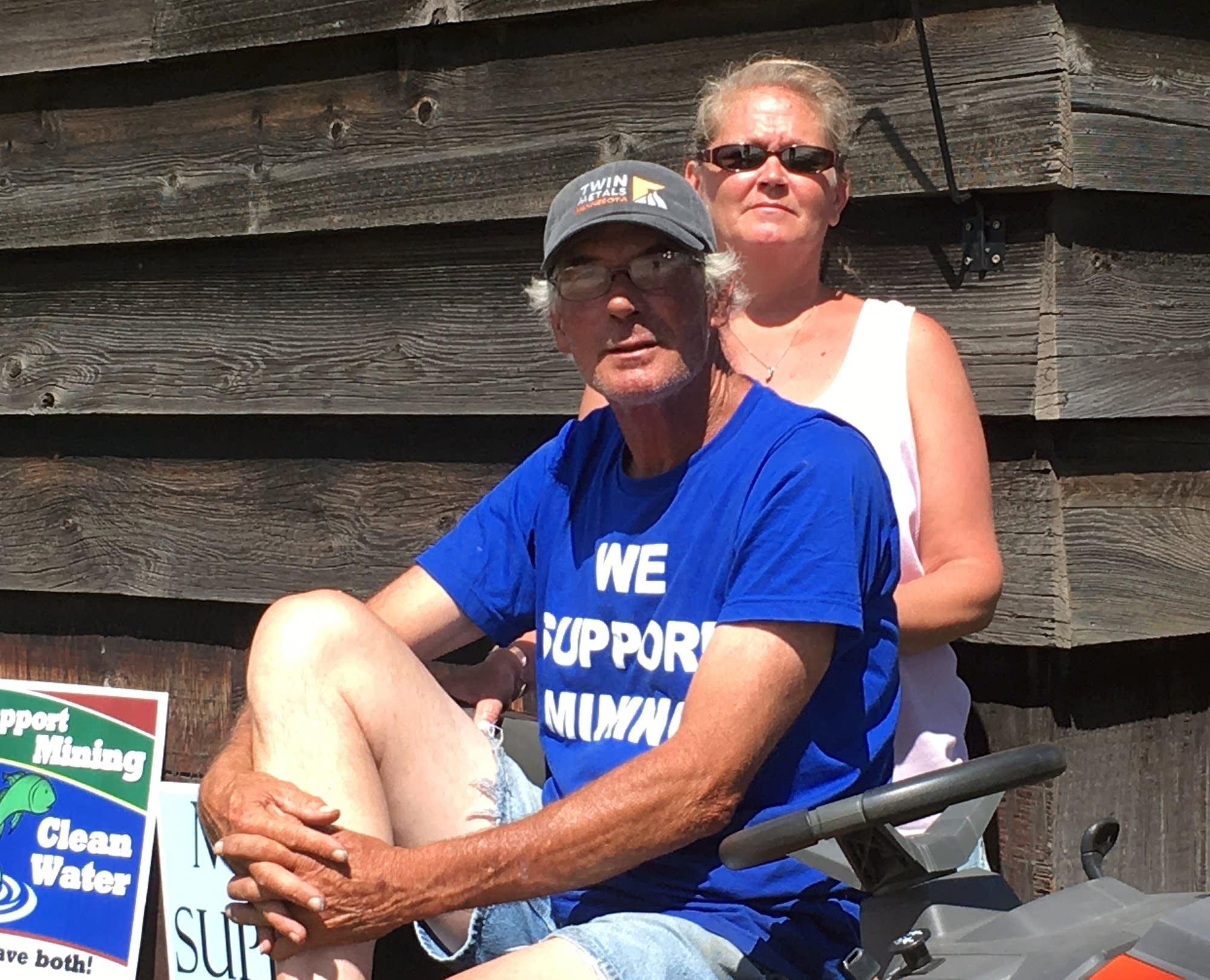 Brent Mitchell and Jackie Koschak.