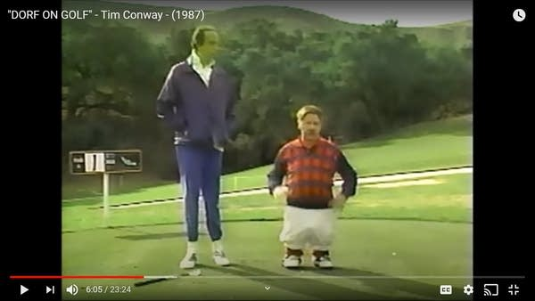 "Tim Conway in ""Dorf on Golf"" (Screencap)"