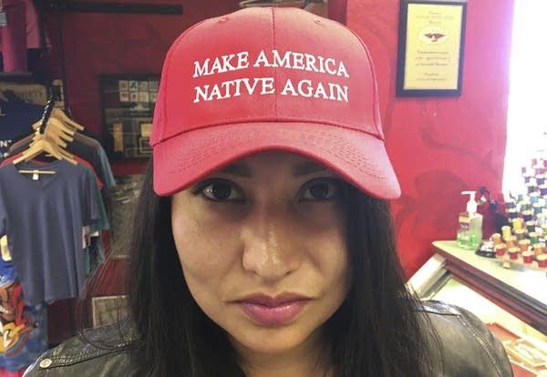 Make America Great Again Donald Trump USA Election Gift Ladies Tee Shirt T