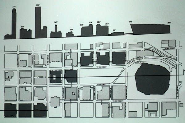 Skyline rendering