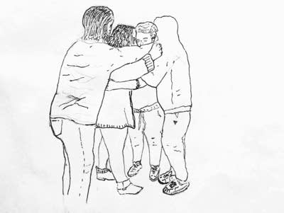 565645 20161117 daca student hug sketch lila