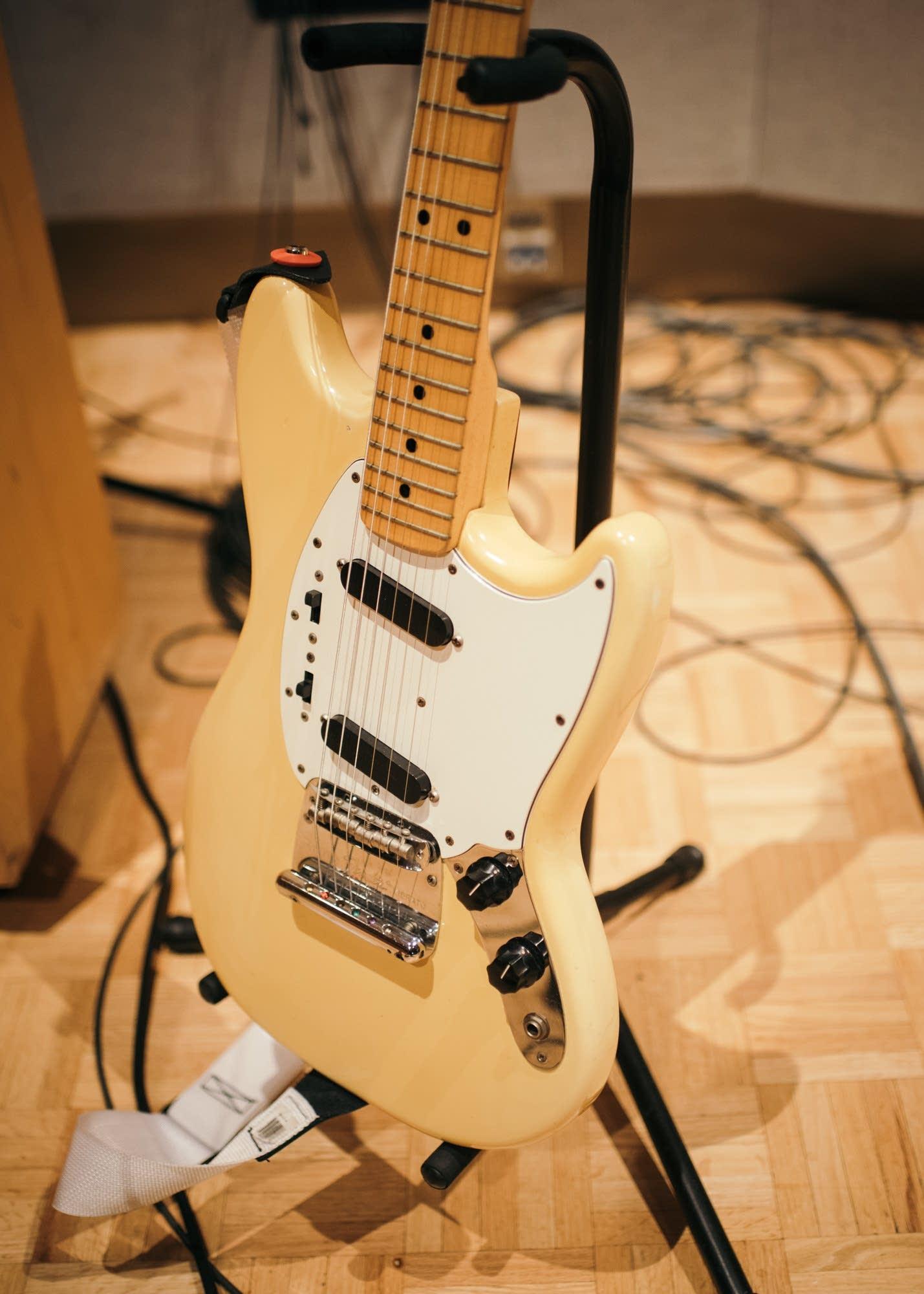 Amber Bain's 1976 Fender Mustang