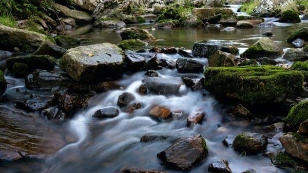 Bubbling brook