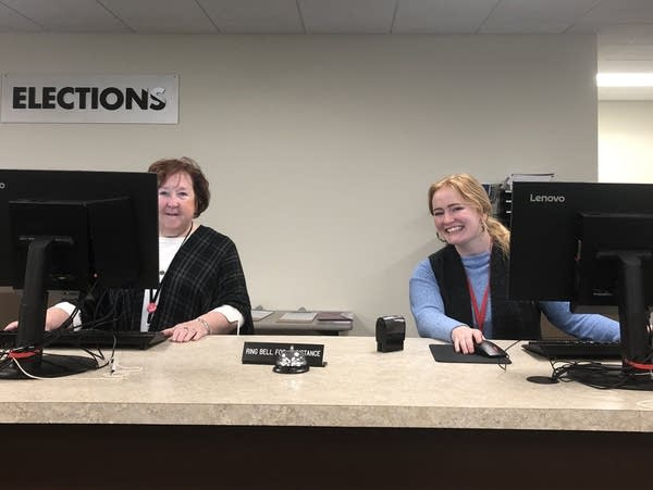 Ramsey County Elections Office workers