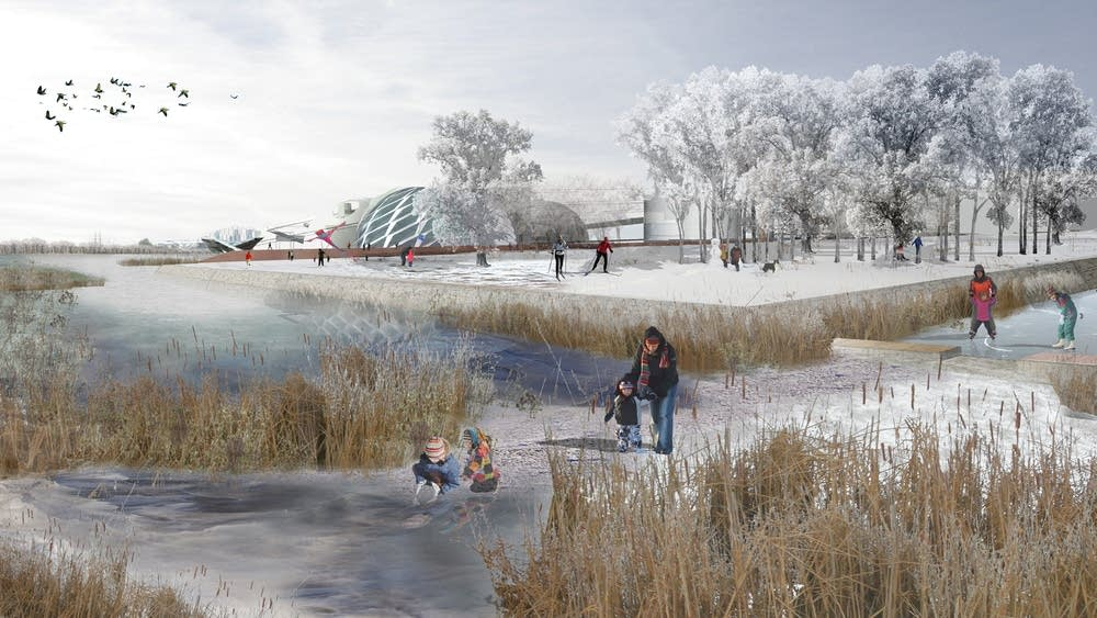 Stoss Landscape Urbanism's winter plan