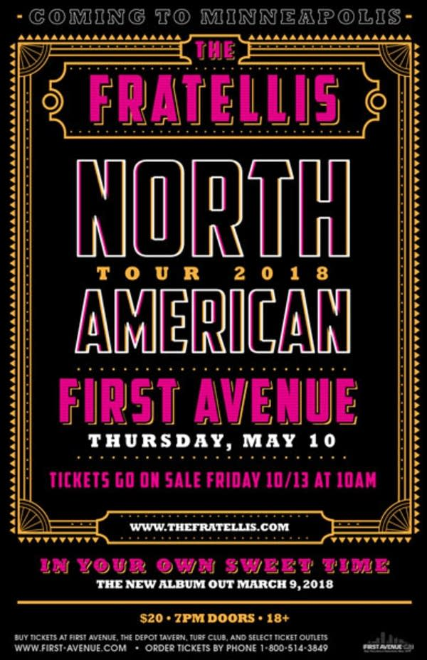 The Fratellis First Avenue event show