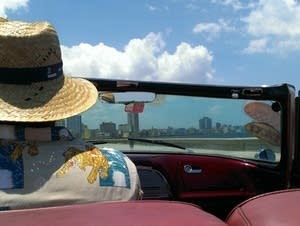 A convertible in Cuba