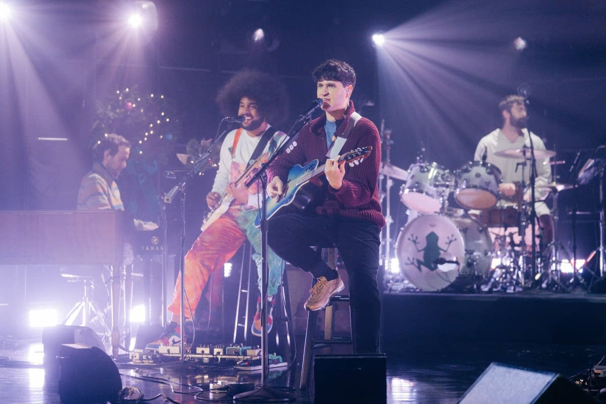 Vampire Weekend on 'The Late Late Show with James Corden'