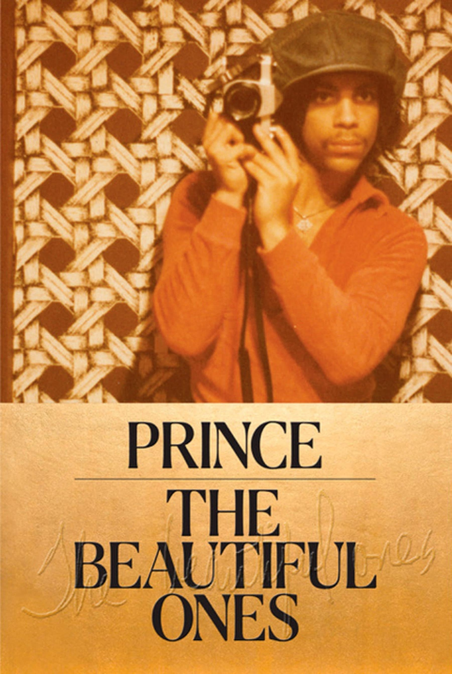 Prince's 'The Beautiful Ones' book cover art.