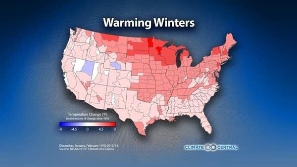 Winter season warming