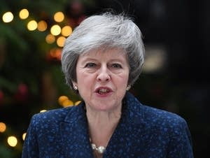 Theresa May faces a confidence vote in her leadership over Brexit.