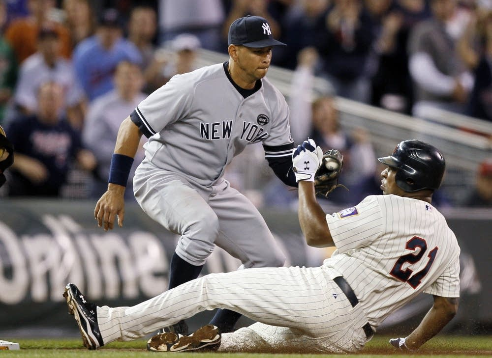 Alex Rodriguez, Delmon Young