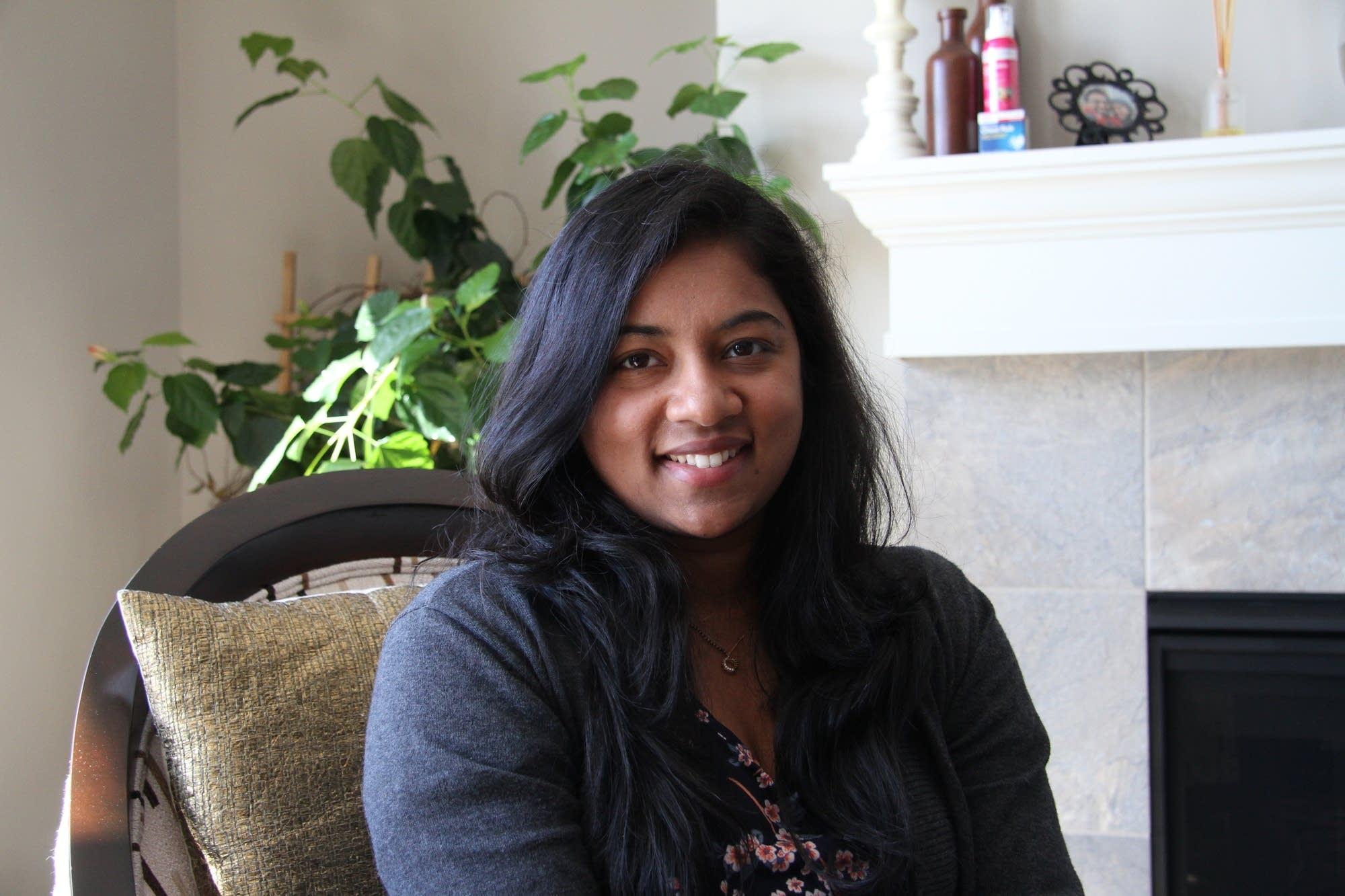 Vanashree Belgamwar, 29, is immigrant from India.