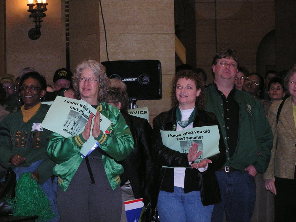 AFSCME rally