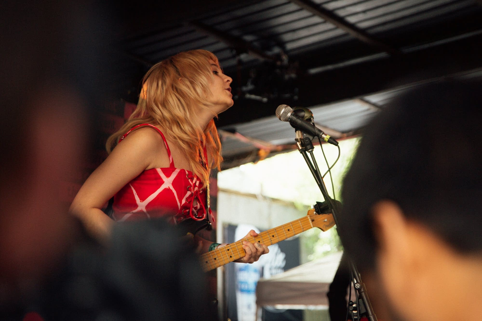 Cherry Glazerr perform at The Current Day Party during SXSW
