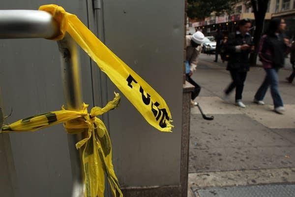 New York City crime scene