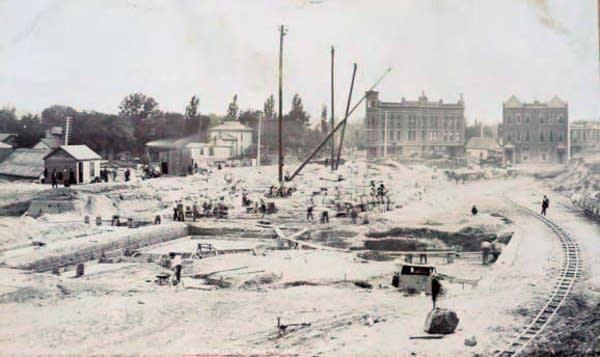 Capitol construction, June 15, 1896