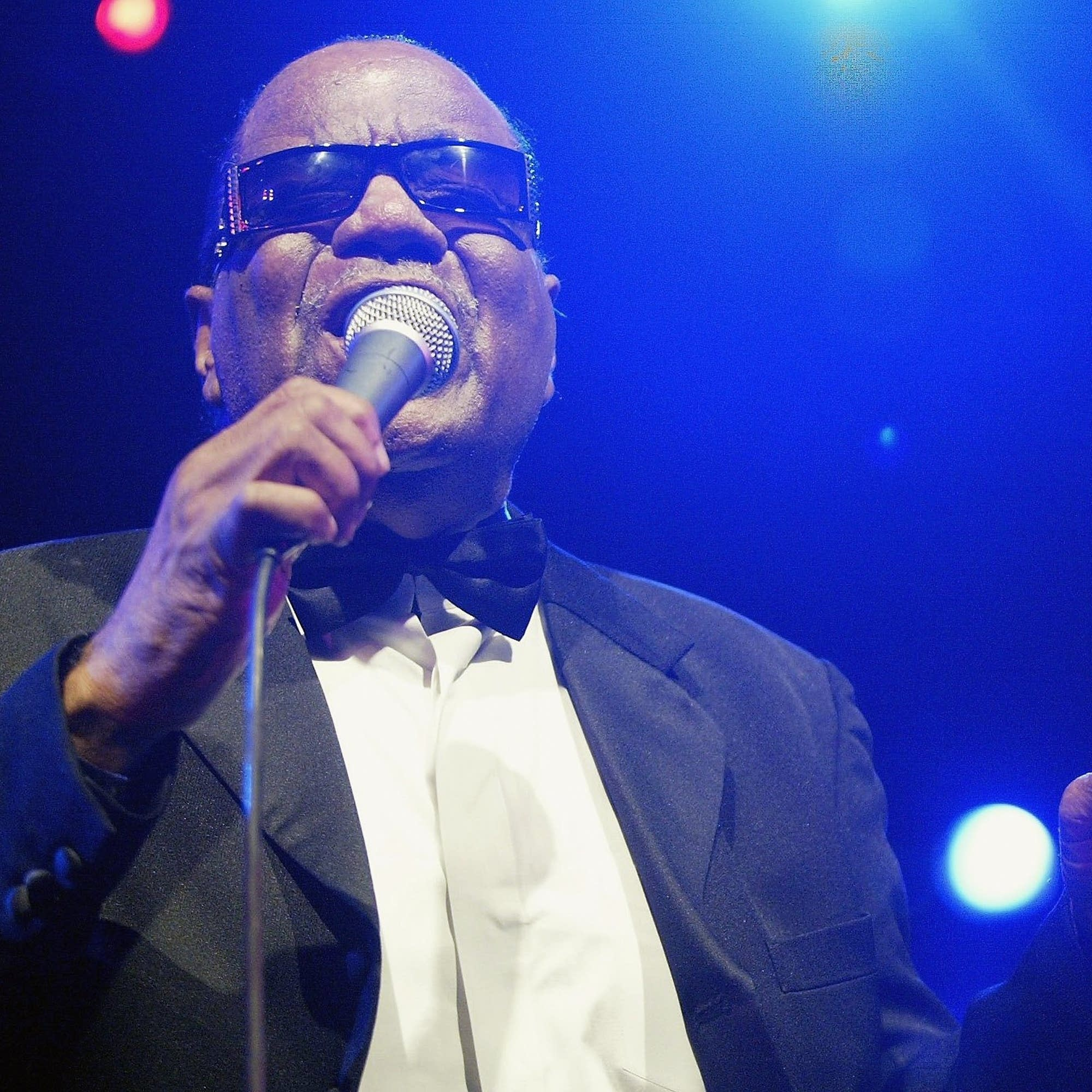 Clarence Fountain performs with Blind Boys of Alabama in 2006.