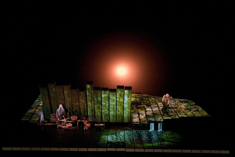 A scene from Act I from Wagner's