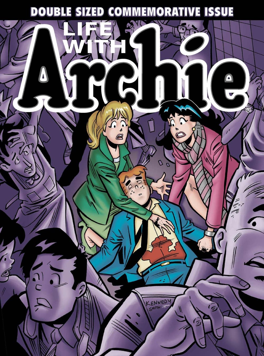 Archie dies taking a bullet for his best friend