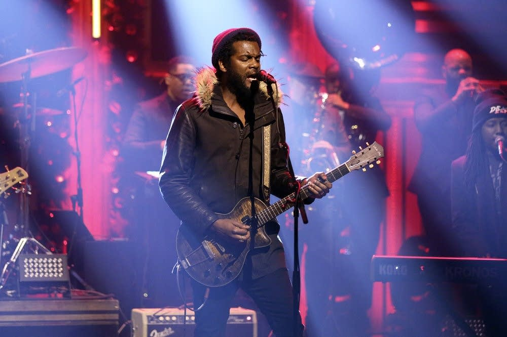 Gary Clark Jr performs on 'The Tonight Show Starring Jimmy Fallon'