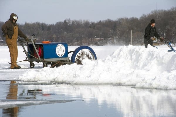 Cutting the ice