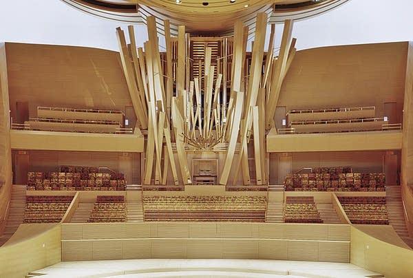 2004 Glatter-Götz, Rosales organ at Walt Disney Concert Hall, LA, CA