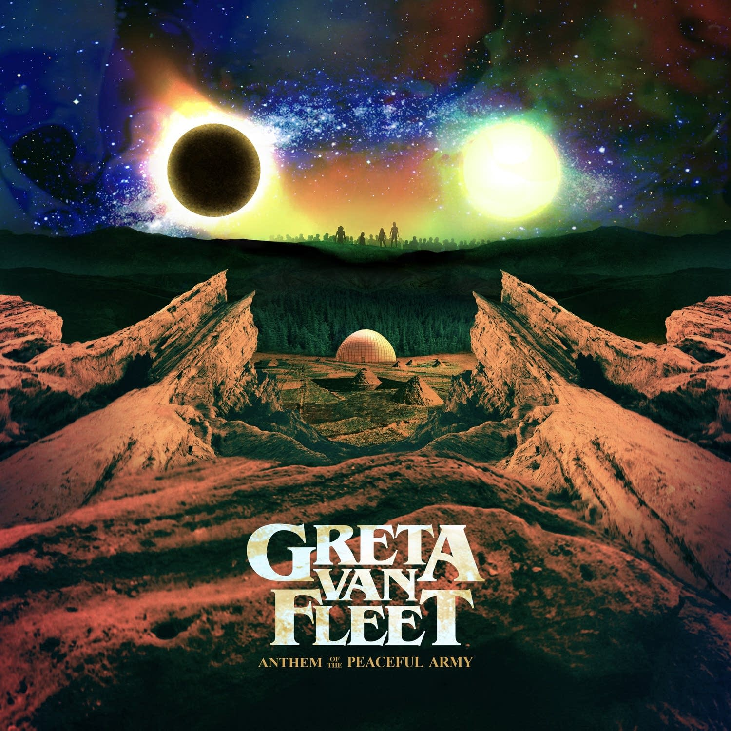 Greta Van Fleet, 'Anthem of the Peaceful Army'