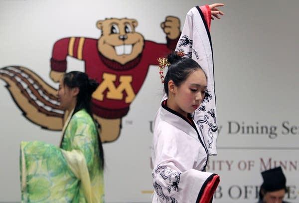 Chinese New Year rehearsal