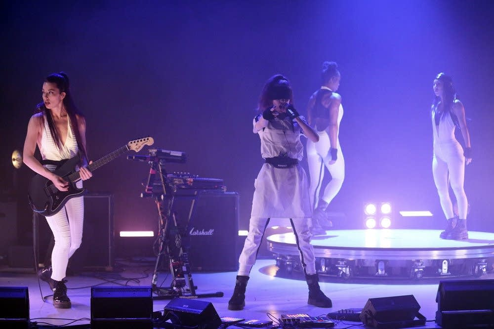 Grimes performs on 'The Tonight Show Starring Jimmy Fallon'