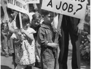 Picketing for jobs