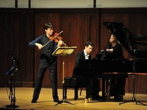 Joshua Bell and Alessio Bax in Winona